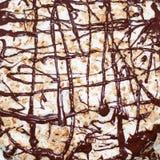 Bolo de chocolate caseiro Imagem de Stock