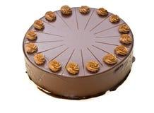 Bolo de chocolate caseiro Imagens de Stock