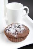 Bolo de chocolate das brownies Imagem de Stock Royalty Free