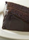 Bolo de chocolate húmido imagens de stock royalty free