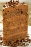 Bolo de chocolate Peerless Fotos de Stock Royalty Free