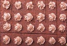 Bolo de chocolate VI Fotografia de Stock