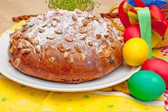 Bolo de Easter Imagens de Stock Royalty Free