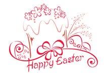 Bolo de Easter Foto de Stock Royalty Free