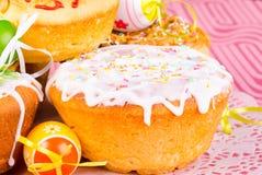 Bolo de Easter Imagens de Stock
