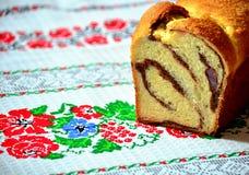 bolo de esponja tradicional romeno Imagem de Stock Royalty Free