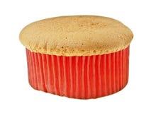 Bolo de esponja vermelho Foto de Stock Royalty Free