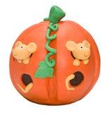 Bolo de Halloween da parte dianteira Foto de Stock Royalty Free