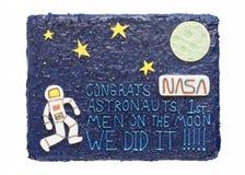 Bolo de Moonshot Imagens de Stock