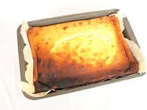Bolo de queijo Imagem de Stock Royalty Free