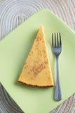 Bolo de queijo da abóbora Imagem de Stock