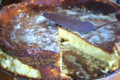 Bolo de queijo da pasta Fotos de Stock