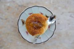 Bolo delicioso de moedura Foto de Stock Royalty Free
