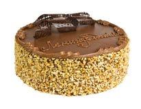 Bolo delicioso do biscoito imagem de stock