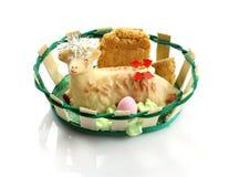 Bolo do cordeiro de Easter Imagem de Stock