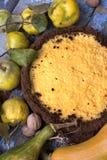 Bolo do limão doce Fotografia de Stock Royalty Free