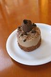 Bolo do Mousse de chocolate Imagens de Stock Royalty Free