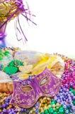 Bolo do rei do carnaval Imagens de Stock