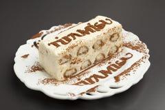 Bolo do Tiramisu Imagens de Stock Royalty Free