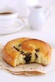 Bolo francês do caracol do bolo frito Fotografia de Stock Royalty Free