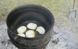 Bolo fritado Foto de Stock