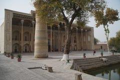 Bolo Hauz Mosque in BukharaUzbekistan Bolo Hauz Mosque in Bukhara uzbekistan. Bolo Hauz Mosque in Bukhara Uzbekistan Bolo Hauz Mosque in Bukhara Indoor view of stock photography