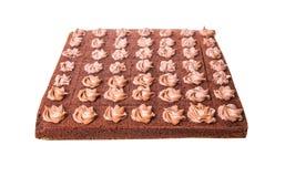 Bolo III da folha do chocolate Imagem de Stock Royalty Free