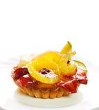 Bolo Low-calorie da fruta imagens de stock royalty free