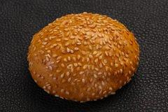 Bolo para o hamburguer imagens de stock royalty free