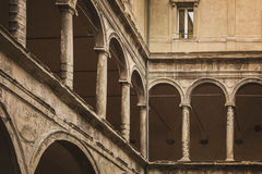Bologa classical architecture Royalty Free Stock Photos