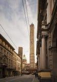 Bologna 2 башни Стоковое Фото