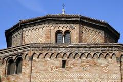 Bologna. Basilica del Santo Sepolcro in Bologna, Italy Royalty Free Stock Photo