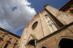 Bologna. Church of St. Giacomo Maggiore - one of famous sacred landmarks of Bologna, Tuscany, Italy Stock Photography