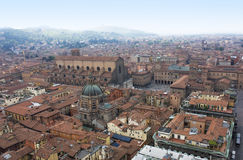 Bologna. City view from above Royalty Free Stock Image