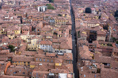Bologna. City view from above Royalty Free Stock Photography