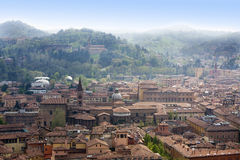 Bologna. City view from above Royalty Free Stock Photo