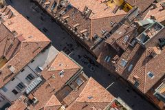Bologna From Above Royalty Free Stock Image