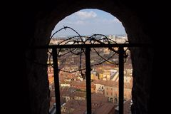 Bologna From Above Royalty Free Stock Photography