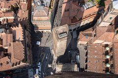 Bologna From Above stock image