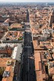 Bologna From Above Stock Photo