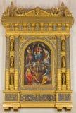 Bologna - altare di rinascita in chiesa San Martino. Fotografie Stock