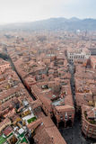 Bologna from Asinelli Tower Royalty Free Stock Photos
