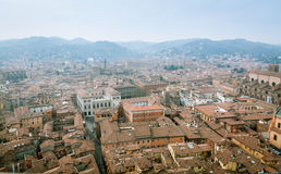 Bologna from Asinelli Tower Stock Images