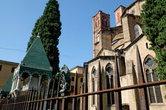 Bologna, Basilica of St. Francis Stock Photo