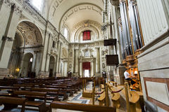 Bologna Cathedral of Saint Peter Royalty Free Stock Images