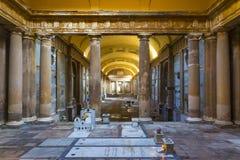 Bologna cemetery of certosa Stock Photo