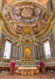 Bologna - Chapel of Rosary in Saint Dominic church Stock Images