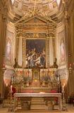 Bologna - Chiesa di San Gregorio e San Siro kyrka Royaltyfri Bild