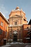 Bologna church life Royalty Free Stock Image