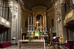 Bologna Church of San Benedetto Royalty Free Stock Image